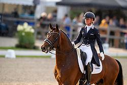 Cornelissen Adeline, NED, Henkie<br /> World Championship Young Dressage Horses - Ermelo 2019<br /> © Hippo Foto - Dirk Caremans<br /> Cornelissen Adeline, NED, Henkie