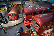 London Transport Museum in London, England, United Kingdom. The London Transport Museum, or LT Museum based in Covent Garden, seeks to conserve and explain the transport heritage of Britains capital city. The majority of the museums exhibits originated in the collection of London Transport, but, since the creation of Transport for London, TfL, in 2000, the remit of the museum has expanded to cover all aspects of transportation in the city.