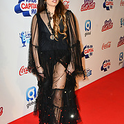 Mabel arrives at Capital's Jingle Bell Ball with Coca-Cola at London's O2 Arena on 9th December 2018, London, UK.