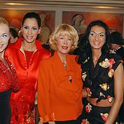 Modeshow Sheila de Vries, Sheila de Vries en modellen