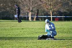 FILE PICTURE © Licensed to London News Pictures. 28/12/2017. London, UK. Police at the scene in Finsbury Park where the body of a young woman was found on Wednesday. A member of the public found the body of the woman, thought to be in her 20s, near the sports area in the centre of the park. Officers attended and the victim was pronounced dead at the scene. Photo credit: Ben Cawthra/LNP