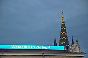 Welcome to Batumi sign Batumi, Georgia