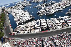 May 28, 2017 - Monte Carlo, Monaco - Motorsports: FIA Formula One World Championship 2017, Grand Prix of Monaco, .#5 Sebastian Vettel (GER, Scuderia Ferrari), #7 Kimi Raikkonen (FIN, Scuderia Ferrari) (Credit Image: © Hoch Zwei via ZUMA Wire)