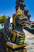 Dragon statue at Tanah Lot Temple, Bali, Indonesia