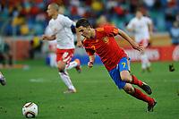 FOOTBALL - FIFA WORLD CUP 2010 - GROUP STAGE - GROUP H - SPAIN v SWITZERLAND - 16/06/2010 - PHOTO GUY JEFFROY / DPPI - DAVID VILLA (SPA)