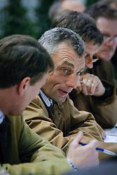Jury : Boudewijn Schepers<br /> BWP Hengstenkeuring Moorsele 2009<br /> Photo © Hippo Foto