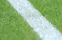Detailing of the pitch - Mandatory by-line: Nizaam Jones/JMP - 21/07/2018 - FOOTBALL - Jonny-Rocks Stadium - Cheltenham, England - Cheltenham Town v Birmingham City - Pre-season friendly