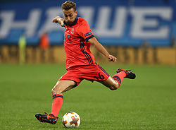 September 28, 2017 - Saint Petersburg, Russia - Sergio Canales of FC Real Sociedad vie for the ball during the UEFA Europa League Group L football match between FC Zenit Saint Petersburg and FC Real Sociedad at Saint Petersburg Stadium on September 28, 2017 in St.Petersburg, Russia. (Credit Image: © Igor Russak/NurPhoto via ZUMA Press)