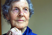 Octagenarian Wendy Roughan who was a nanny during the second world war