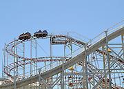 AUSTRALIA - MELBOURNE  A wooden rollercoster in St Kilda. 07/01/2010. STEPHEN SIMPSON...
