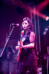 The Van T's play the T-Break stage. Sunday, 12th July 2015, day three at T in the Park 2015, at its new home at Strathallan Castle.