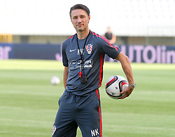 11.06.2015, Stadion Poljud, Split, CRO, UEFA Euro 2016 Qualifikation, Kroatien vs Italien, Gruppe H, Training Kroatien, im Bild Niko Kovac // during trainig of Team Croatia prior to the UEFA EURO 2016 qualifier group H match between Croatia and and Italy at the Stadion Poljud in Split, Croatia on 2015/06/11. EXPA Pictures © 2015, PhotoCredit: EXPA/ Pixsell/ Ivo Cagalj<br /> <br /> *****ATTENTION - for AUT, SLO, SUI, SWE, ITA, FRA only*****