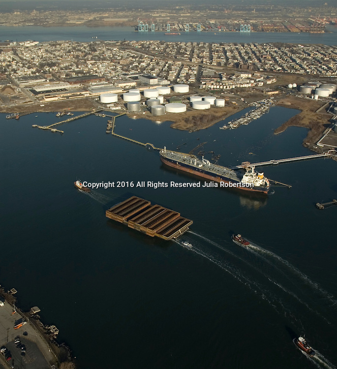 Aerial view of the Bayonne Energy Center in Bayonne New Jersey