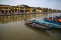 Hoi An Old Town - UNESCO World Heritage town Hoi An is a popular stop for visitors to Vietnam.  The towns architectural styles, relaxed atmosphere, and some of the country's best food.  The town is an attraction in itself, but just 7 km away is an excellent beach and heading the other direction is My Son ruins, another UNESCO World Heritage site.