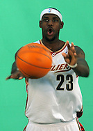 LeBron James during Cavaliers Media Day.