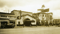 1938 The Brown Derby restaurant on Vine St. in Hollywood