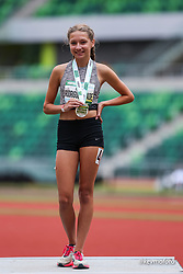 2021 High School Nationals<br /> NSAF Outdoor Track and Field Championship<br /> girls middle school mile awards