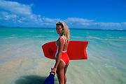 Woman on Beach<br />