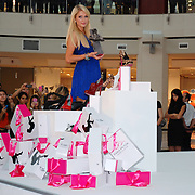 U.S. heiress, actress and singer Paris HILTON poses during a presentation in Istinye Park Shopping Center at Istanbul, on September 22, 2011. Hilton is in Istanbul for the launch of her new shoe line with partner Antebi Footwear. ATTENTION Denmark, Sweden, Norway, Baltic Countries and Japan OUT. Photo by TURKPIX