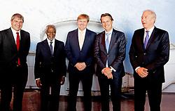 König Willem Alexander und Kofi Annan beim Global Minds Symposium in Rotterdam / 051016<br /> ***Global Minds symposium in Rotterdam, The Netherlands, Oct. 5th, 2016.***