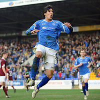 St Johnstone FC March 2012