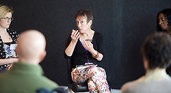 Dance UK's The Future: New Ideas, New Inspiration - the UK's first industry-wide conference Day 3<br /> 12th April 2015 at Sadler's Wells, London, Great Britain<br /> <br /> A wide range of topics were covered throughout the conference, culminating in Emerging Artists: Training, Creativity and Choreography.<br /> <br /> Sidi Larbi Cherkaoui<br /> Alistair Spalding CBE<br /> Wayne McGregor CBE<br /> Dr. Christopher Bannerman<br /> Jonzi D<br /> Freddie Opoku-Addaie<br /> Stine Nilsen<br /> Seeta Patel<br /> Helen Shute<br /> Theo Van Rompay<br /> Prof. Jason Beechey<br /> Lawrence Rhodes<br /> Jane Hackett<br /> Adam Galbraith<br /> Polly Risbridger<br /> Lucy Bennett<br /> Veronica Jobbins<br /> Shelia Dickie<br /> Kirin Sinha<br /> <br /> <br /> Photograph: Elliott Franks