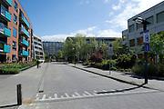 Straat in Enschede, Overijssel  - Street in dutch city Enschede, Netherlands