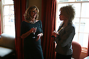 Lizzie Elliot-Square and Sally Farmiloe, Lucinda Goodhew new collection. 30 Pavilion Rd. London.  24 April 2007. -DO NOT ARCHIVE-© Copyright Photograph by Dafydd Jones. 248 Clapham Rd. London SW9 0PZ. Tel 0207 820 0771. www.dafjones.com.