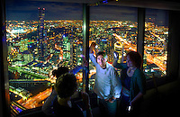 Shannon Bennett's New Vue du Monde. The picture was taken by the light of mobile phones because the restaurant is not finished yet & has no lighting. Pic By Craig Sillitoe CSZ/The Sunday Age.3/6/2011