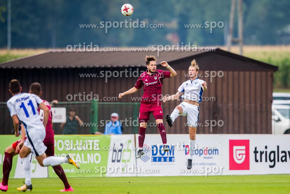 Igor Bukara of NK Triglav Kranj during football match between NK Triglav Kranj and ND Gorica in 6th Round of Prva liga Telekom Slovenije 2017/18, on August 19, 2017 in Sports park Kranj, Kranj. Photo by Ziga Zupan / Sportida