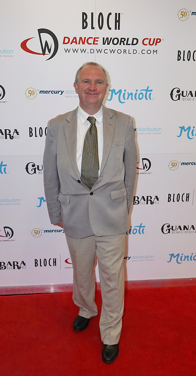 London,England,UK : 28th April 2016 : John Grimshaw Director and Chairman of Dance World Cup attend Dance World Cup attend Kimberly Wyatt launches the 2016 annual BLOCH Dance World Cup at BLOCH, 35 Drury Lane, Covent Garden, London. Photo by See Li
