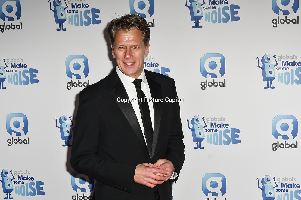 Andrew Castle arrivers at the Global's Make Some Noise Night at Finsbury Square Marquee on 20 November 2018, London, UK.