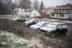 © Licensed to London News Pictures. 21/01/2018. Maidenhead, UK. Snowfall near Maidenhead in Berkshire, as parts of the UK are blanketed in freezing weather. . Photo credit: Ben Cawthra/LNP