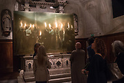 opening of Paul Benney's ' Speaking in Tongues' church of San Galo, Venice Biennale, 10 May 2017