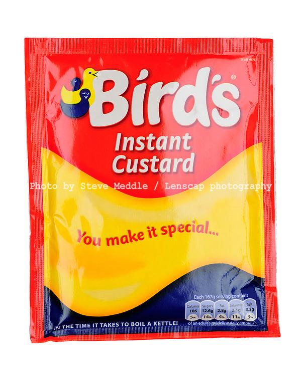 Packet of Birds Instant Custard - Oct 2009