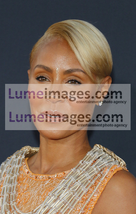 Jada Pinkett Smith at the Los Angeles premiere of 'Gemini Man' held at the TCL Chinese Theatre in Hollywood, USA on October 6, 2019.