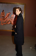 Princess Rosaria of Bulgaria ( Rosaria Saxe Coburg), George Condo opening of Religeous paintings, Spruth Magers and Lee,  Berkeley St. 12 October 2004. ONE TIME USE ONLY - DO NOT ARCHIVE  © Copyright Photograph by Dafydd Jones 66 Stockwell Park Rd. London SW9 0DA Tel 020 7733 0108 www.dafjones.com