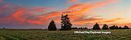 Sunset, Prairie Ridge State Natural Area, Prairie Ridge, Marion County, Illinois, USA, nobody, dusk