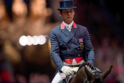 Hester Carl (GBR) - Uthopia<br /> Kur - Reem Acra FEI World Cup Dressage Qualifier - The London International Horse Show Olympia - London 2012<br /> © Hippo Foto - Jon Stroud