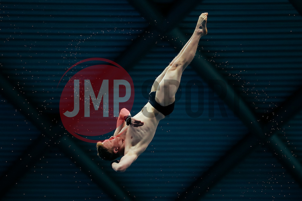 Ben Sambrook from City of Leeds Diving Club competes in the Mens 10m Platform Preliminary - Mandatory byline: Rogan Thomson/JMP - 12/06/2016 - DIVING - Ponds Forge - Sheffield, England - British Diving Championships 2016 Day 3.