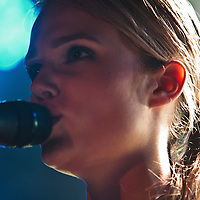 Florrie performing live at Sound Control, Manchester, 2011-05-11