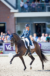 Scholtens Emmelie, NED, Apache<br /> Nederlands Kampioenschap Dressuur - Ermelo 2016<br /> © Hippo Foto - Leanjo de Koster<br /> 15/07/16