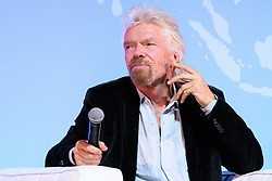 "© Licensed to London News Pictures. 26/10/2016. SIR RICHARD BRANSON speaks at the Joint Session Grand Challenges and Keystone Symposia ""Translational Vaccinology in Global Health"" conferences, October 26, 2016, London, UK.""<br /> <br /> London, UK. Photo credit: Ray Tang/LNP"