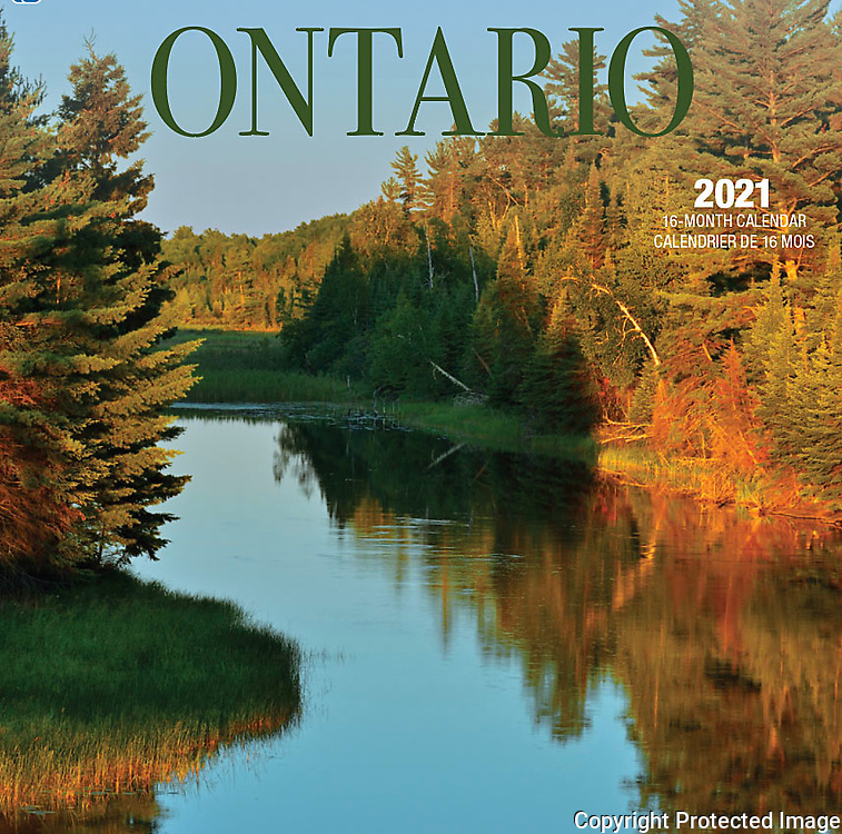 PRODUCT: Calendar<br /> TITLE: 2021 Ontario CLIENT: Wyman Publsihing