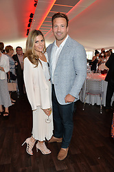 ZOE HARDMAN and at the Audi Polo Challenge at Coworth Park, Blacknest Road, Ascot, Berkshire on 31st May 2015.