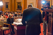 January 11, 2012 - Brooklyn, New York, USA: Two years after Haiti earthquake, the 2nd Annual Interfaith Memorial Service for Haiti, Wednesday night at Brooklyn Borough Hall.