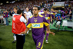 Marcos Morales Tavares before Third Round of Champions League qualifications football match between NK Maribor and FC Zurich,  on August 05, 2009, in Ljudski vrt , Maribor, Slovenia. Zurich won 3:0 and qualified to next Round. (Photo by Vid Ponikvar / Sportida)