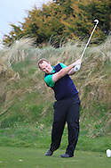Mark Whelan (Tallaght) on the 6th tee during the PGA Winter Series Southern Branch in Rush Golf Club on Friday 20th March 2015.<br /> Picture:  Thos Caffrey / www.golffile.ie