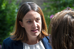 Pictured: <br /> <br /> Lothian MSP Kezia Dugdale launched a new report, 'Falling through the cracks', today, when she visited the Edinburgh City Youth Cafe in Edinburgh.  The report examines the life chances of young people in care. She discussed the report with Roseanna Campbell (19), Katherine Grindley (16), Darren Telford (17) and Sarah-Louise Kelegher (16)<br /> <br /> Ger Harley | EEm 30 July 2018