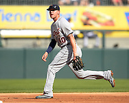 CHICAGO - SEPTEMBER 05:  JaCoby Jones #40 of the Detroit Tigers fields against the Chicago White Sox on September 5, 2016 at U.S. Cellular Field in Chicago, Illinois.  The Tigers defeated the White Sox 5-3. (Photo by Ron Vesely)   Subject:   JaCoby Jones